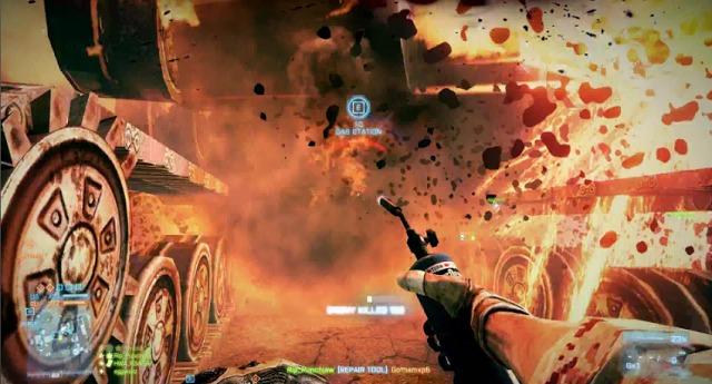 [BF3] おもしろ:『Battlefield 3』の音をファミコンの音と入れ替えてみた 3:16
