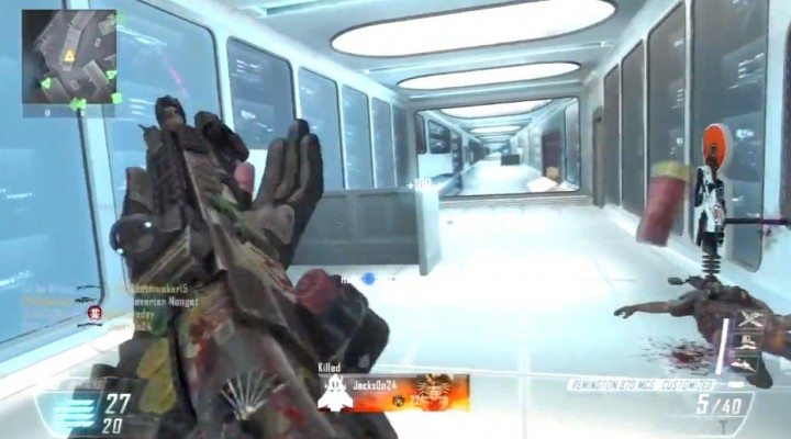 CoD:BO2:「Firing Range」フルマッチプレイ動画!時々感じる違和感がおもしろい