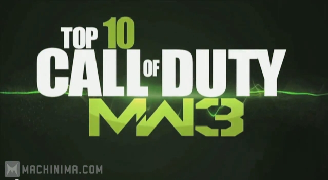 [MW3] TOP10プレイ!(by Hazard Cinema EP2)