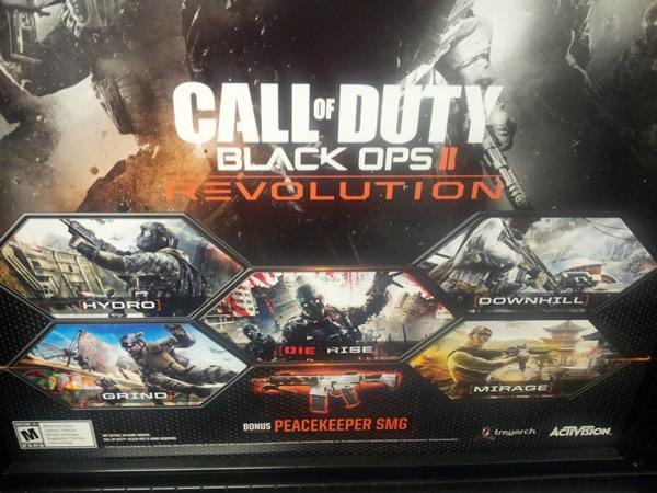 [BO2] Black Ops 2:初DLC「REVOLUTIONS」は5つのマップと追加武器! 1月29日配信[更新]