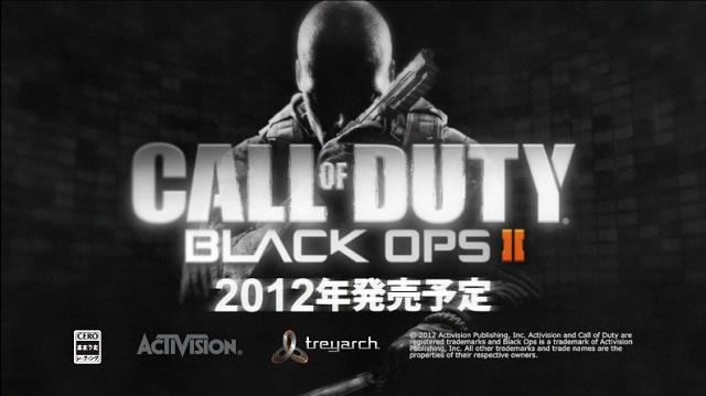 [BO2] 『Call of Duty: Black Ops 2』 日本語吹き替えトレイラー公開!販売元は例年通りスクエニ
