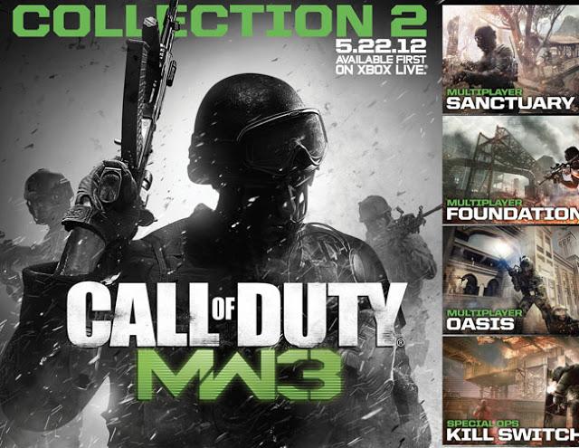 """[MW3] DLC:マップパック""""COLLECTION 1 & 2""""が50%割引!7月3日から※"""