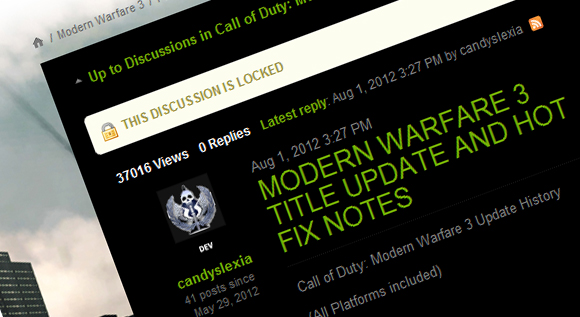 Call of Duty: Modern Warfare 3 Patch
