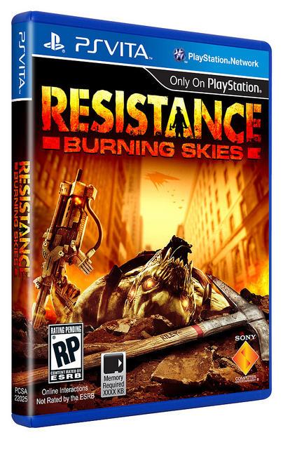PS VITAで本格FPS?! VITA版 『Resistance』 発売決定!