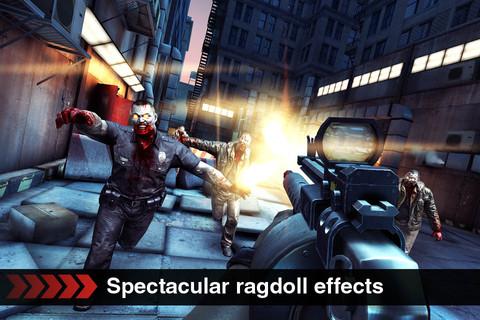 [iOS] FPS最新作『DEAD TRIGGER』が早くも無料セール中!(iPhone/iPad)