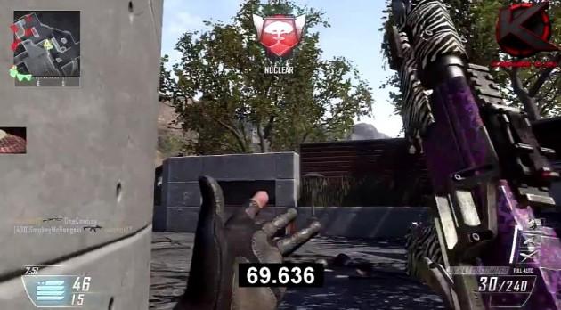 CoDBO2:世界記録!69秒でニュークリアキラー達成動画