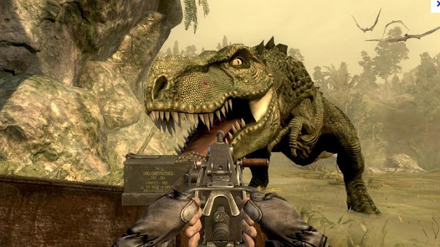 """『BATTLEFIELD 4』では、""""ゾンビモード""""ならぬ""""恐竜モード""""搭載?"""