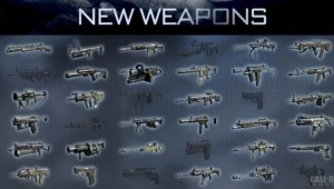 CoD:ゴースト:マルチプレイヤー武器リスト