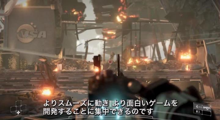Killzone: Shadow Fall:クリエイター「PS4でゲームとは思えない体験を」