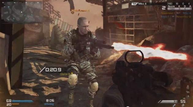 CoDゴースト:キャンプ不可の新ゲームモード「Cranked」プレイ動画