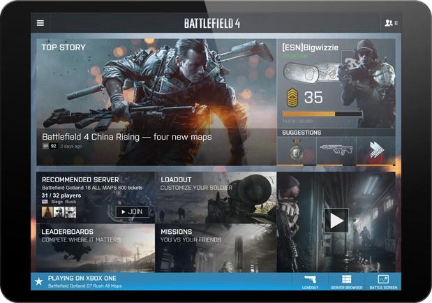 "BATTLEFIELD 4:Battlelogの""バトルスクリーン""は次世代機とPC限定、更なる新機能も実験中"