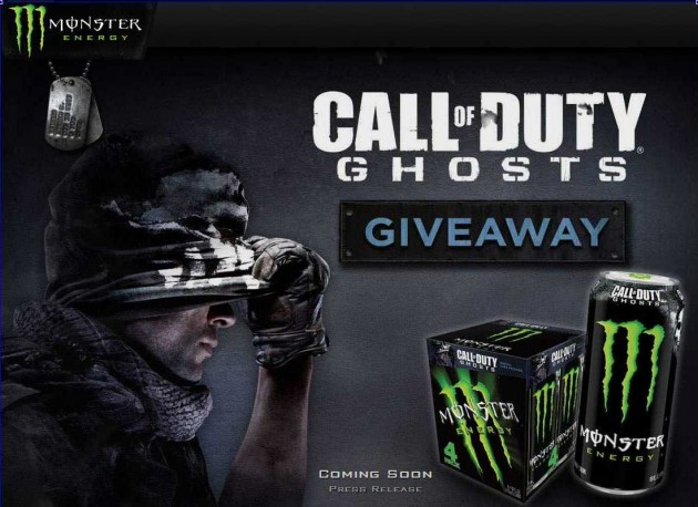Monster Energy - Call of DutyR- Ghost Sweepstakes