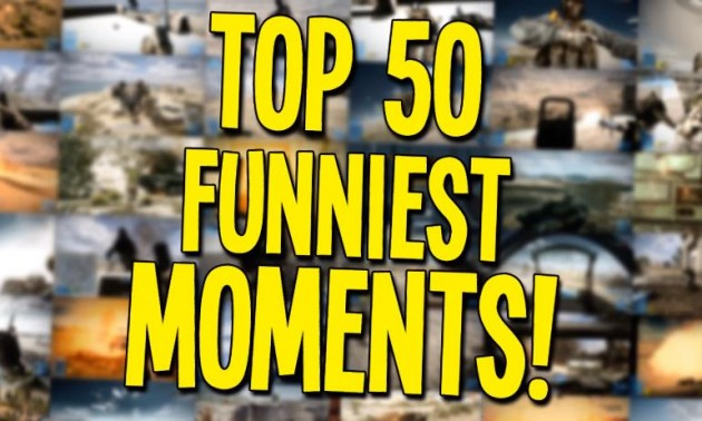 TOP 50 FUNNIEST BATTLEFIELD 3 MOMENTS!