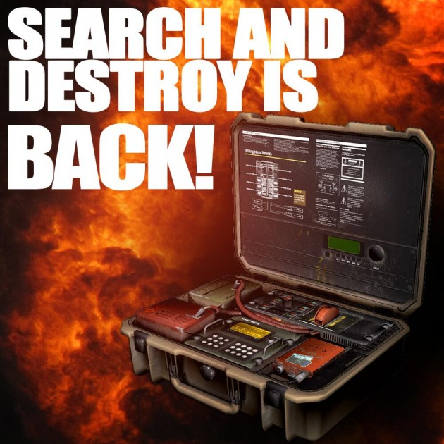 SEARCH & DESTROY IS BACK!