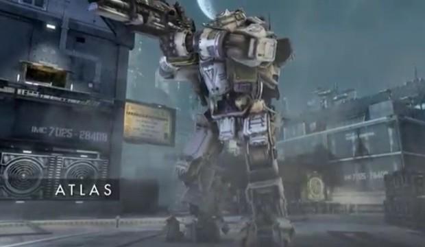 """Titanfall: タイタンクラス""""ATLAS""""のトレイラーが公開"""
