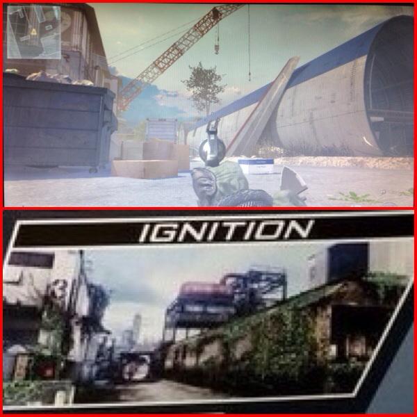 """CoD ゴースト:新マップ""""Ignition""""はMW2 """"Scrapyard""""のリメイクマップか"""