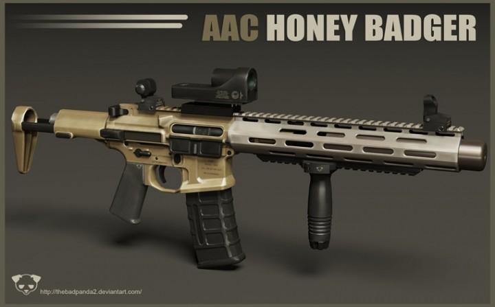 CoD: ゴースト:Honey Badgerで意外な強カスタム!