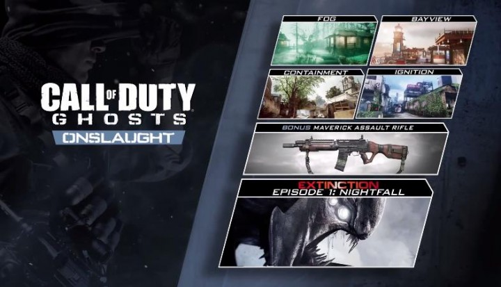 "CoD: ゴースト: PS3/PS4/PC版の第一弾DLC""Onslaught""、2/27配信!"