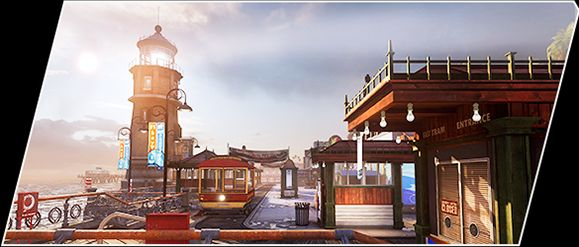 """CoD ゴースト 第一弾DLCパック""""Onslaught""""の公式トレイラーBayView"""