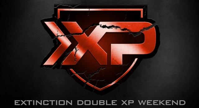 CoD ゴースト:Extinction ダブルXP(経験値2倍)