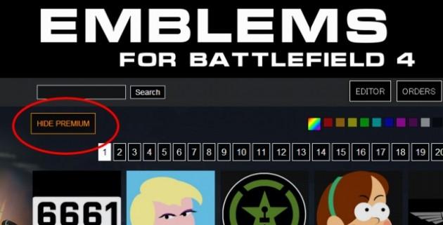 Emblems for Battlefield 4   Hardline