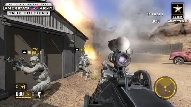 アメリカ軍開発のリアル系無料FPS『America's Army』