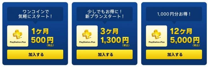 PSPlus料金
