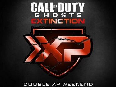 CoD: ゴースト:Extinction PSN/PCのDLCを記念するダブルXP(経験値2倍)実施中!