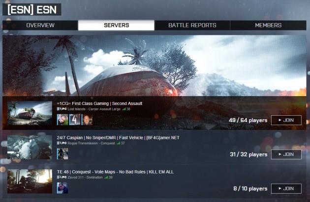 BATTLEFIELD 4 : Naval Strikeと共にリリース予定のBattlelogのアップデート内容が公開
