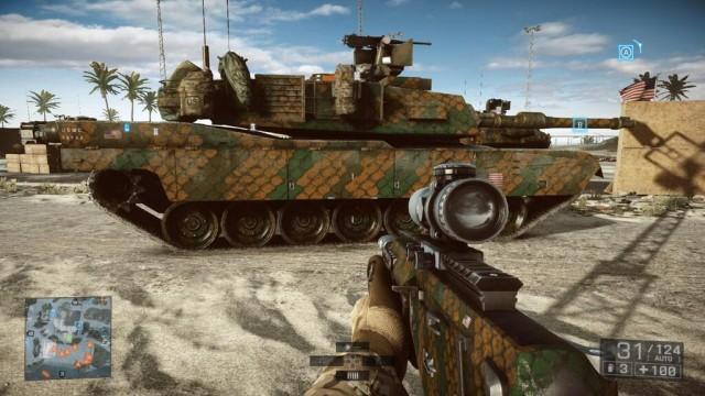 Battlefield 4:「Phantom迷彩」を全車両に適応したイメージ画像がクール!