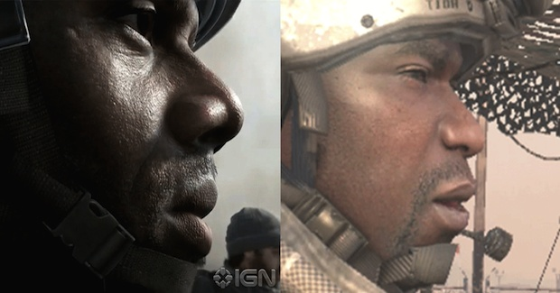 『CoD 2014』のイメージが『CoD:MW2』のフォーリー軍曹に似ている?海外で話題に