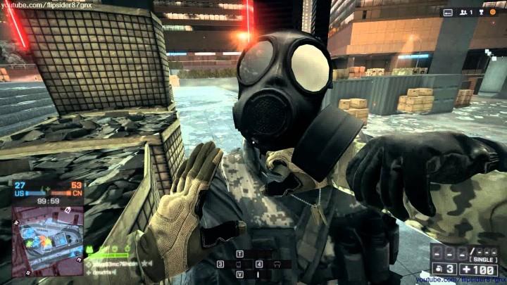 Battlefield 4 : 暇人募集 – 1時間弱に渡るナイフキルだけの誰がみるんだモンタージュ
