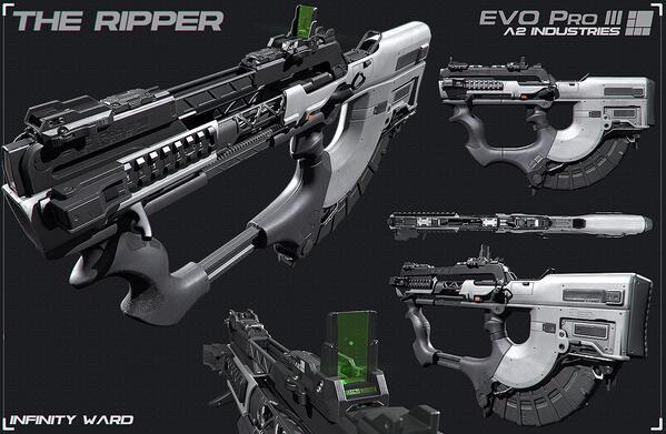 "CoD: ゴースト:新武器""The Ripper""、シーズンパス保持者向けに先行解禁"