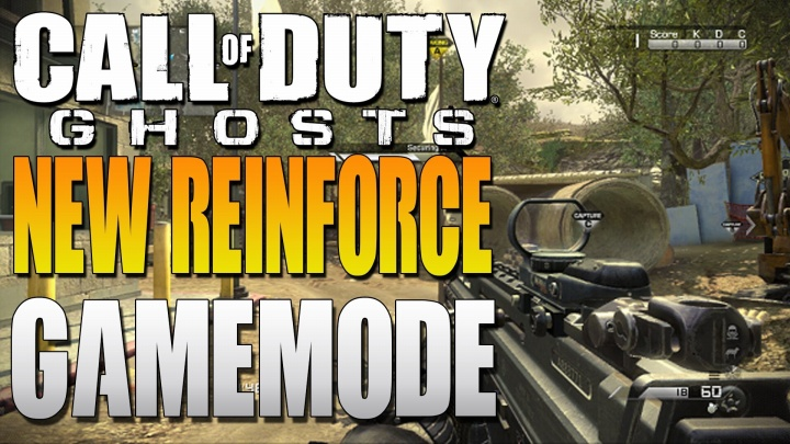 CoD ゴースト:ドミネ+SnR?新モード「Reinforce」プレイ動画