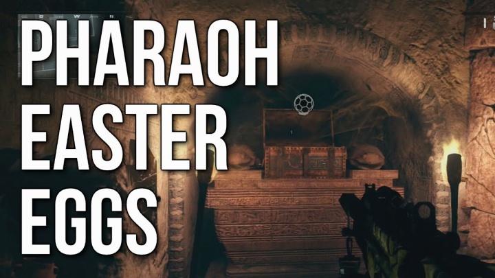 """CoD: ゴースト:DLC""""Invasion""""の「ファラオ」プレイ動画大量公開。全パーク取得のKEM、人喰いスカラベ、金武器など"""