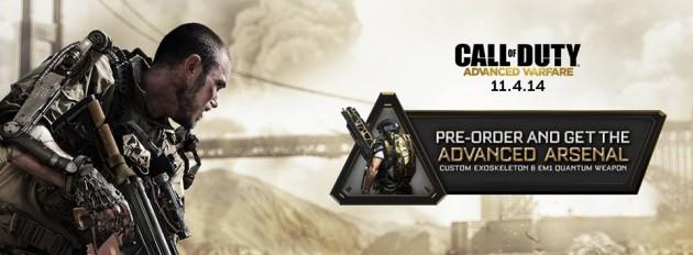 『Call of Duty Advanced Warfare(コール オブ デューティ アドバンスド・ウォーフェア)』予約特典