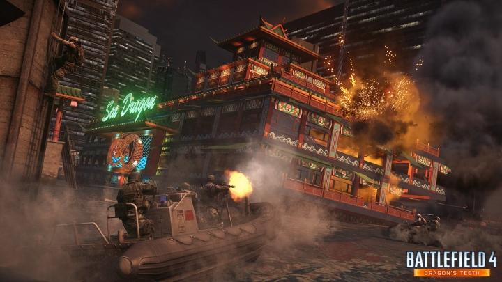 """Battlefield 4 : 最新DLC""""Dragon's Teeth""""のアジアンマップ 、Sunken Dragonのスクリーンショット公開"""