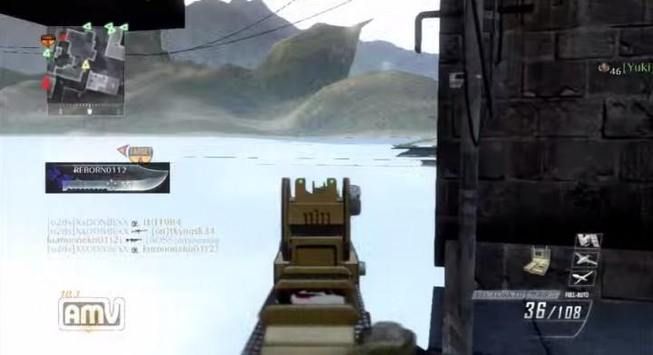 CoD:BO2:空間を超えまくって見えない敵と戦う謎の異次元兵士