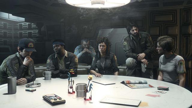 Alien: Isolation:映画「エイリアン」の面々が総出演!魅惑の予約特典DLC
