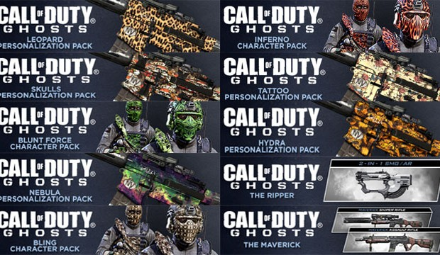 CoD: ゴースト:武器2種の配信を含むパーソナライゼーションパック第4弾、海外PSNで7/31発売
