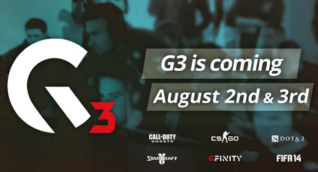 CoD: ゴースト:イギリス最大のeSportsトーナメント「Gfinity 3」が8/2開催、日本からも観やすい時間帯