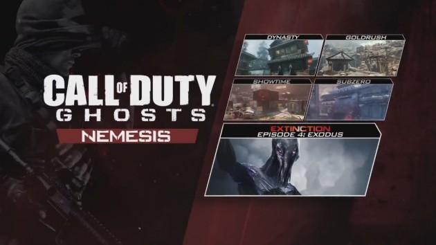 """CoD: ゴースト:第4弾DLC """"Nemesis""""がPS3/PS4/PC向けに配信開始"""