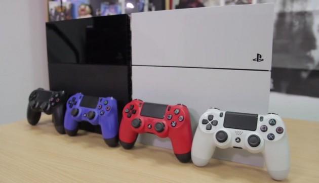 PS4カラー比較