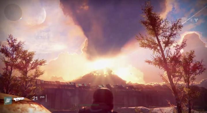 Destiny:流れる雲をボーっと観るだけの動画…海外で人気