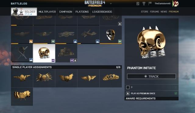 Battlefield 4 : ついにPhantom Initiateチャレンジが解読!アンロックして限定迷彩を入手せよ
