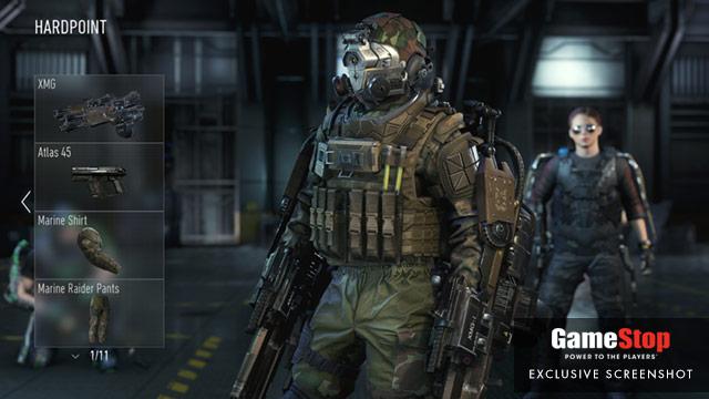 CoD:AW:特徴的な兵士の新スクリーンショット(4枚)