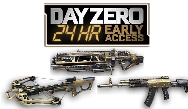 """CoD:AW:""""DAY ZEROエディション""""に同梱される4種の武器やスーツが初公開"""