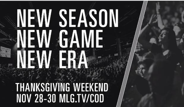 CoD:AW:初となるeSportsイベントがMLGにより開催!もちろんストリームも