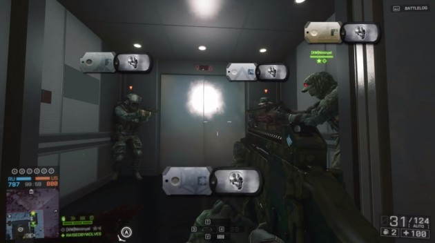 『BATTLEFIELD 4(バトルフィールド 4)』Hanger 21の隠しエレベーター