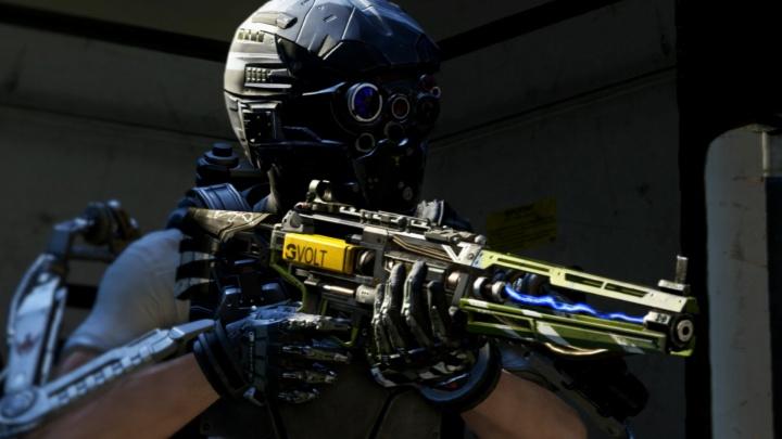 """CoD:AW:エネルギーアサルトライフルの新武器""""AE4""""でのプレイ動画"""